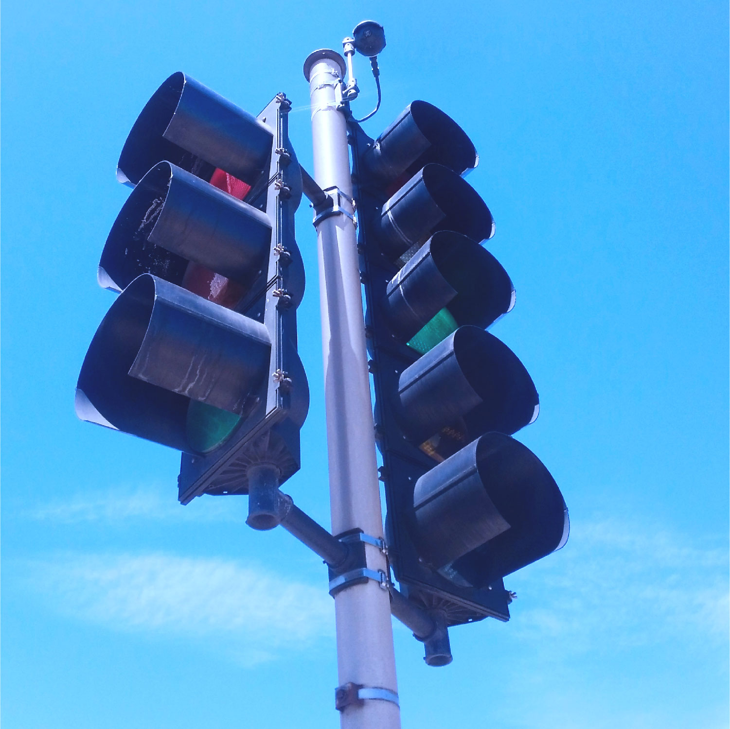 Blank-Out Wrong-Way Traffic Light sensors