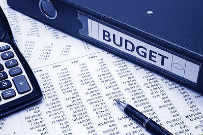 Budget printouts and calculator