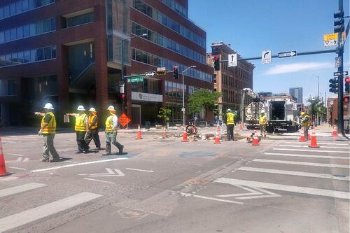 Work Zone Workers in Denver